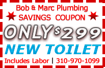 Rolling Hills Plumber Toilet Install